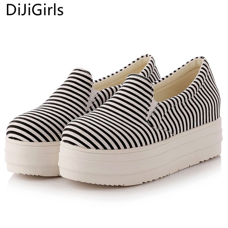 Fashion Women flats/platform canvas shoes rubber sole ladies loafers Casual shoes sapato feminino shoes woman footwear 2017 new