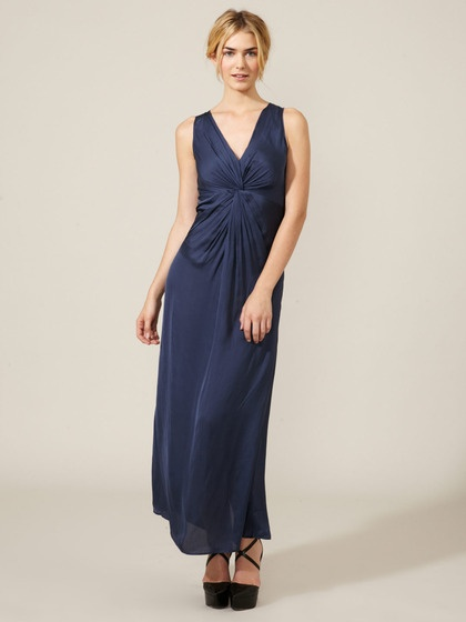 :): Maxi Dresses, Dresses Woven, Marine Polyest, Knot Details, Pleated Knot, Applies, Knot Maxi, Dresses Pleated, Products