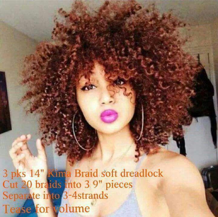 Big hair don't care...Crochet braids
