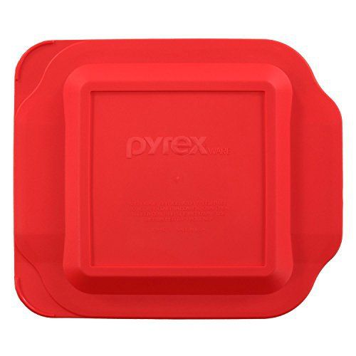 Pyrex lids make cooking, serving and storing easy and convenient. These lids are made of a non-porous surface, which does not absorb food odors, flavors, or stains. Lids can be used in the refrigerator, freezer, or microwave and can be cleaned on the top rack of the dishwasher. Made in the... more details available at https://www.kitchen-dining.com/blog/cookware/bakers/product-review-for-pyrex-red-plastic-lid-for-2-quart-8-inch-square-for-standard-baking-dish-222-pc/