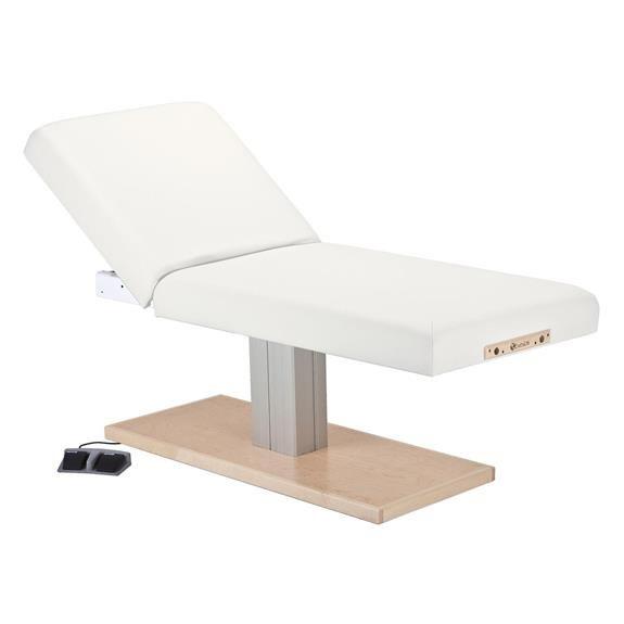 Earthlite Everest Spa Tilt Single Pedestal Electric Lift Massage Table