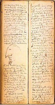 I cahiers di #Proust, doppia pagina