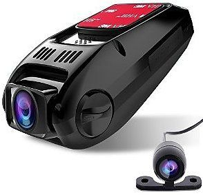 Dual Lens Dash Cam CiBest A118C Upgraded HD1080P [Front Cam Rear View Cam] Car Camera Video Recorder 170 Wide Angle (Capacitor Edition-No Built-in Battery): Electronics