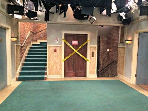 only set of stairs on the show   LEGO TBBT