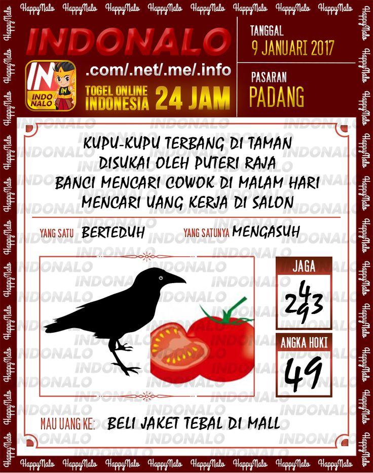 Kode Jaga 6D Togel Wap Online Live Draw 4D Indonalo Padang 9 Januari 2017