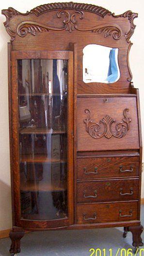 Secretary Desk With Hutch Antique Secretary Desks And