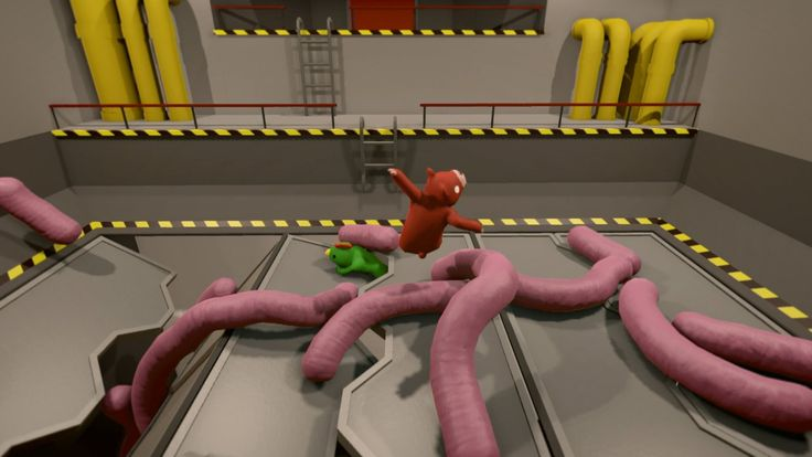 Gang Beasts on PS4 will have local and online play: Gang Beasts is a dang good…