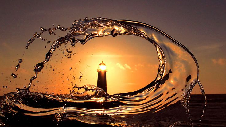 Beautiful Capture of a Lighthouse, Andros Island, Greece, Photographer Unknown....
