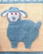 Lullaby Lambs Baby Blanket