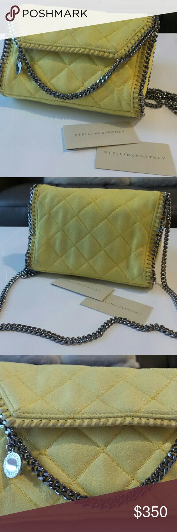 Auth Stella McCartney Falabella Mini Crossbody Bag Authentic Stella McCartney Falabella  Mini Crossbody Bag Comes with dust bag and tag Condition: used but in good condition   Please check out my other items  Feel free to ask any questions No return or exchange Stella McCartney Bags Crossbody Bags