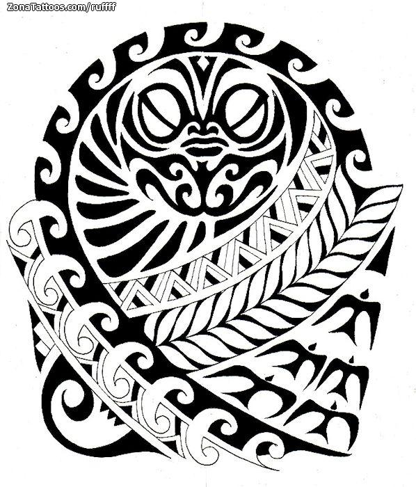 how to draw a maori tattoo