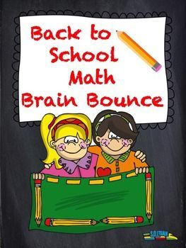 Our Brain Bounce game helps your kids practice addition, subtraction, greater than, less than, and money. This great math game is one of our new Brain Bounce games that facilitate ELA and Math skills for your kids. You can also use these cards in a center, as a scoot game, or as exit tickets.$