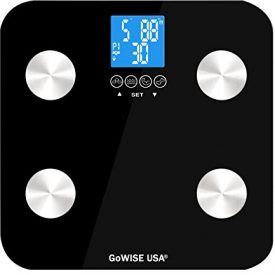 This GoWISE USA Body Fat scale measures four components of the body: body fat, water, bone mass, and muscle mass. It is equipped with sensors on a tempered glass platform. This scale uses a measurement method called Bioelectrical Impedance Analysis (BIA). This type of technology uses a minute electrical current and passes it through the […]