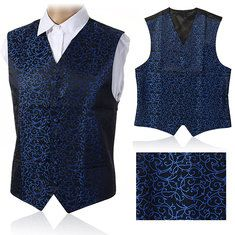 Business Formal Double Breasted Suit Vest British Style Waistcoats for Men on Sale-NewChic Mobile.