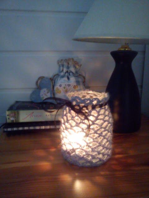 JORUN yarn .: Reusing jam jars.