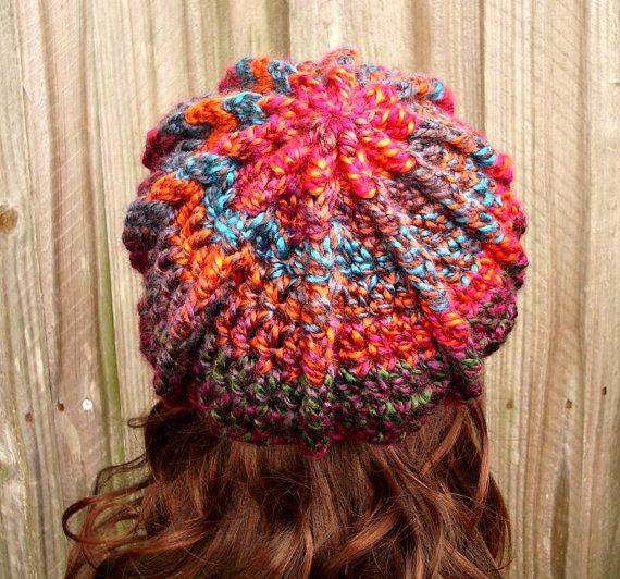 Crochet el sombrero de vendedor de periódicos sombrero