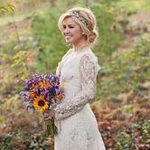 Kelly Clarkson Wedding Headpiece