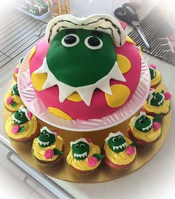 The wiggles birthday party, Dorothy the Dinosaur cake