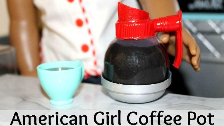 How to make an American Girl Coffee Pot