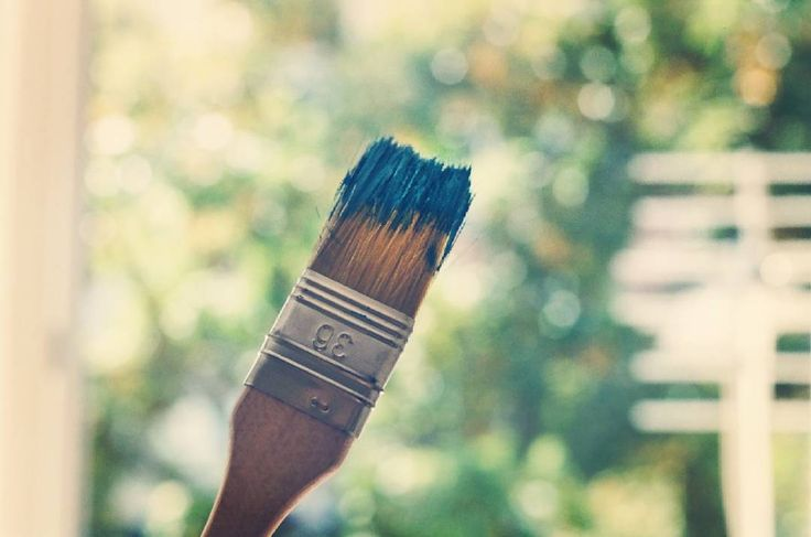 #painting #blue #blu #tinta #pennello #farba #malowanie #colours #summer #estate #slonce #art #vintagestyle #vintagelovers #hotday #zenit #kodakportra #35mm #analogcamera