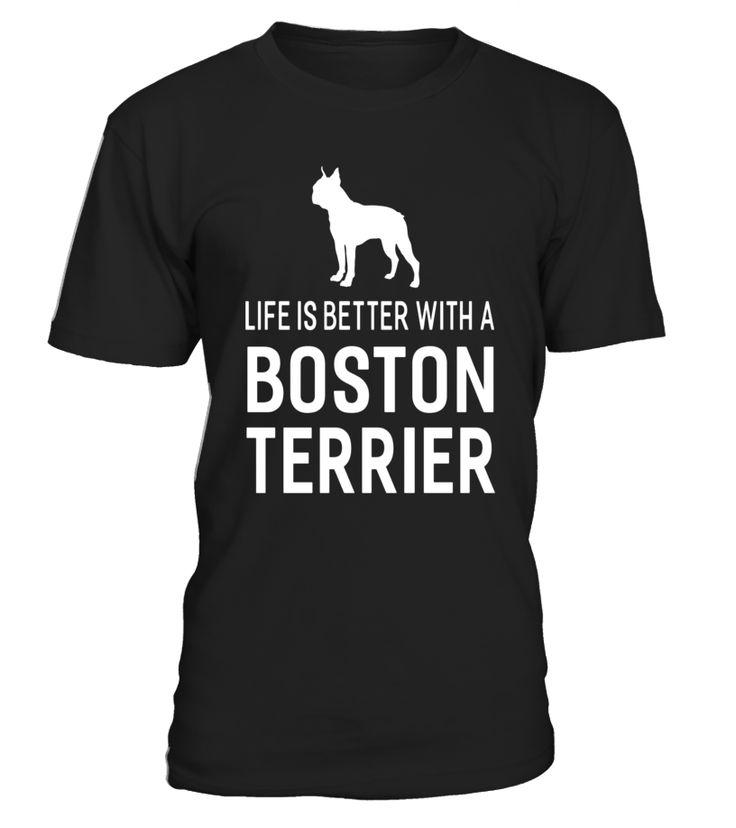 Life Is Better With A Boston Terrier Dog T-shirt Animal Dogs  electionday#tshirt#tee#gift#holiday#art#design#designer#tshirtformen#tshirtforwomen#besttshirt#funnytshirt#age#name#october#november#december#happy#grandparent#blackFriday#family#thanksgiving#birthday#image#photo#ideas#sweetshirt#bestfriend#nurse#winter#america#american#lovely#unisex#sexy#veteran#cooldesign#mug#mugs#awesome#holiday#season#cuteshirt