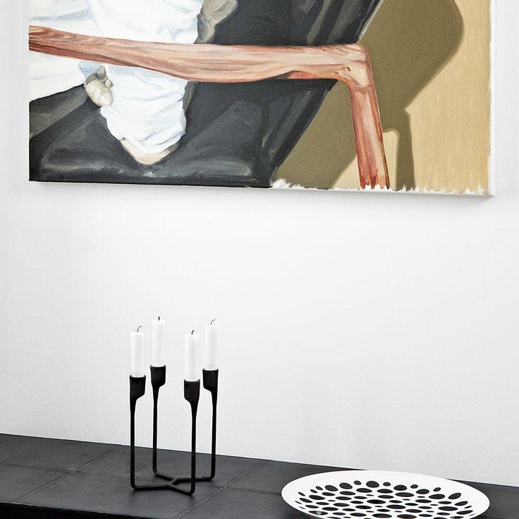 Heima Candle Holder Black $73. - RoyalDesign.com