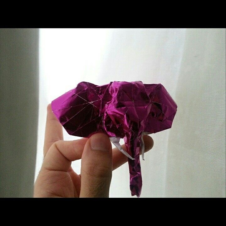 Elephant had origami by 'delice'