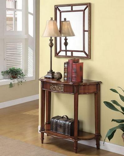 Types Of Entryway Furniture Before Choosing One « · Foyer TablesTable  MirrorMirror ...