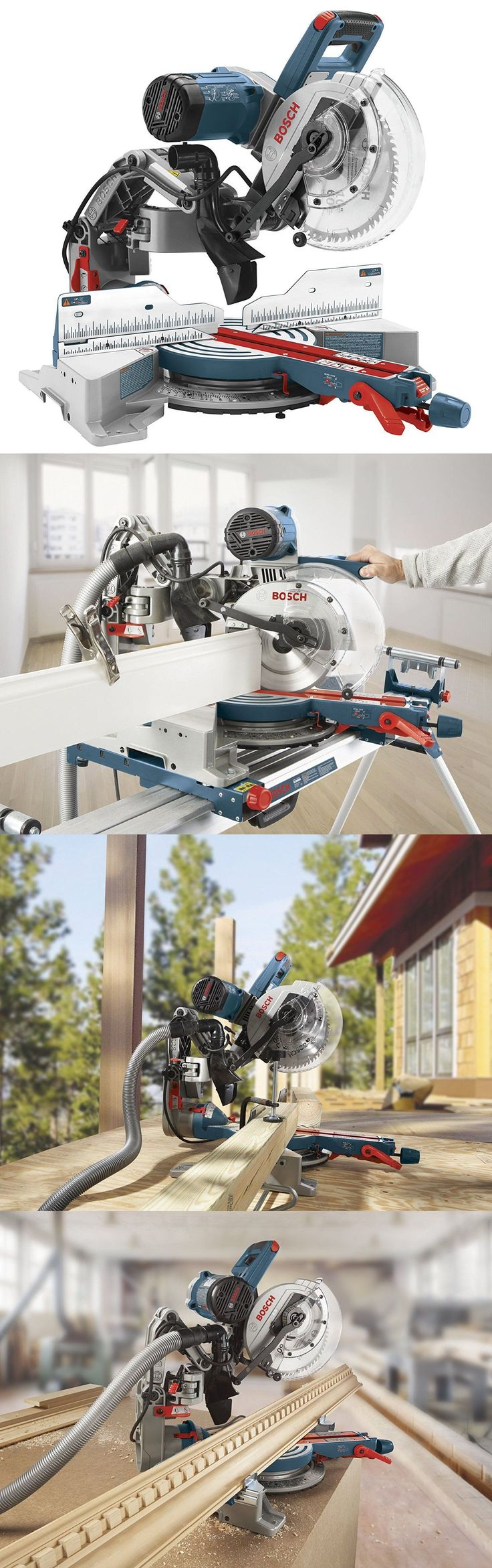 Miter and Chop Saws 20787: Bosch 15 Amp 10 Dual-Bevel Glide Miter Saw Cm10gd New -> BUY IT NOW ONLY: $575 on eBay!