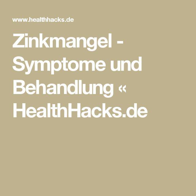 Zinkmangel - Symptome und Behandlung « HealthHacks.de