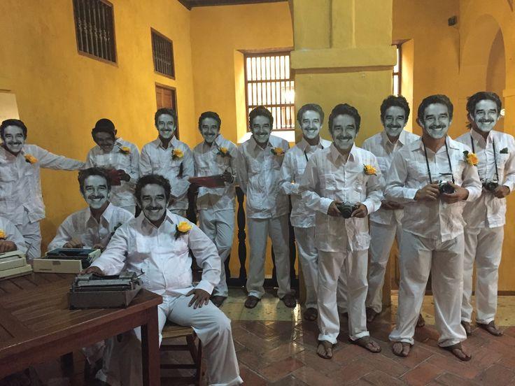 Ya estamos en el Centro De Formación De La Cooperación Española, Cartagena De Índias, listos para echar cuentos sobre el joven Gabo periodista en Cartagena: http://www.fnpi.org/noticias/noticia/articulo/la-fundacion-de-gabriel-garcia-marquez-en-cartagena-cumple-20-anos/