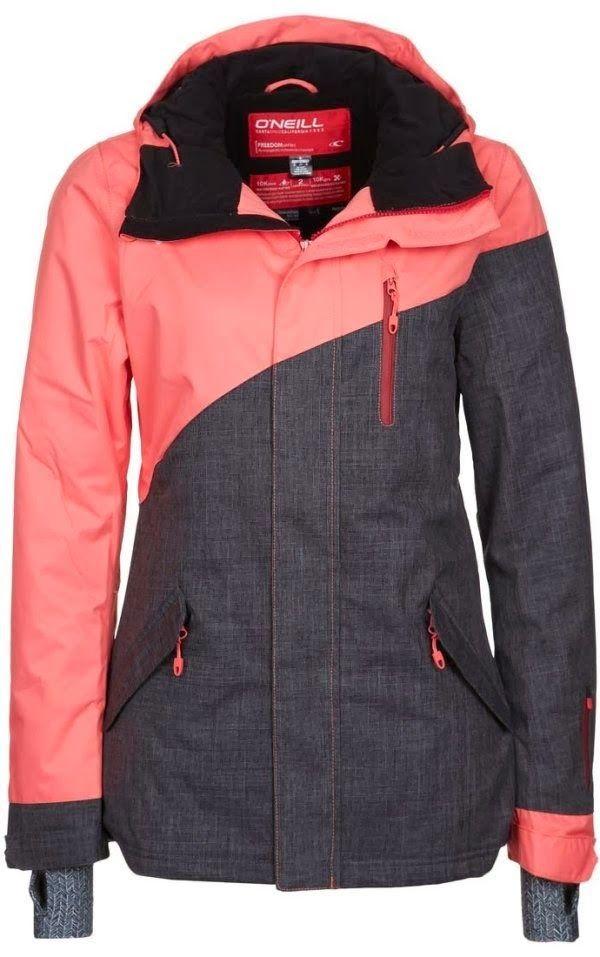 Comfy Coral And Dark Combo Jacket