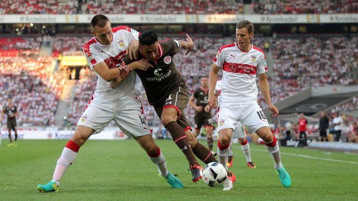 VfB Stuttgart - FC St. Pauli 2:1 | Gentner-Grätsche macht VfB glücklich - Bundesliga - Bild.de