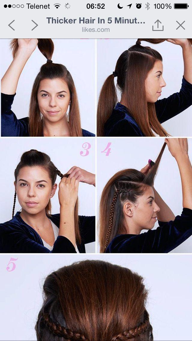 Leuk kapsel lang haar