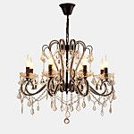 Modern Gold Color LED Crystal Chandelier With 6 Arms For Living Room Bedroom And Dining Room Lighting 2018 - $149.99