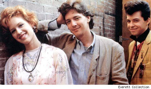 Pretty in Pink......brings me back to the 80's!! I wanted red hair like Molly Ringwald
