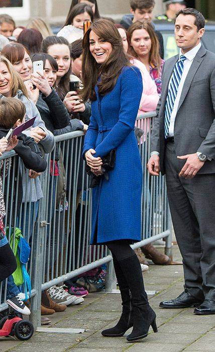 kate-middleton-on her visit to Dundee, Scotland