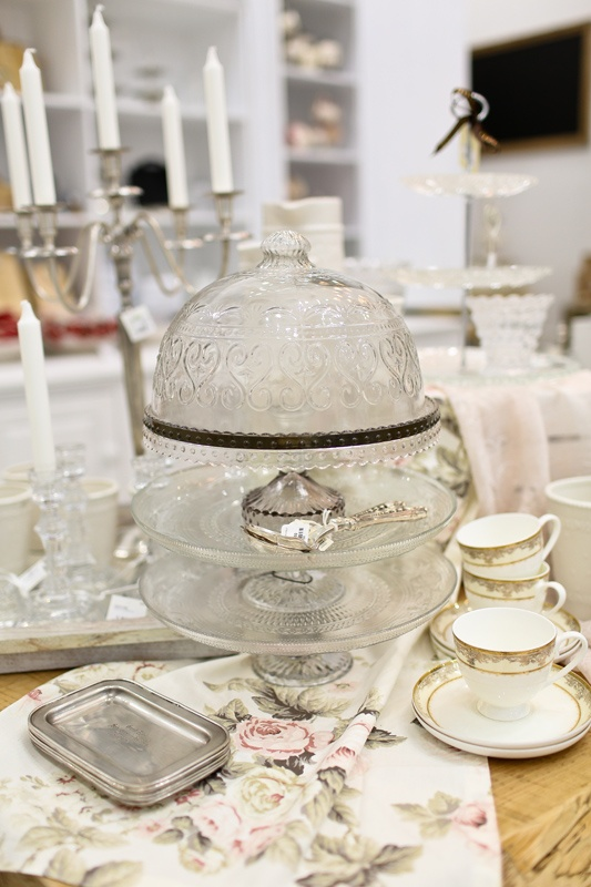 Domed and tiered glass and silver dessert tray. Enter to win a $ 300 #NottingHill gift card http://theprov.in/nottingcontest #contest
