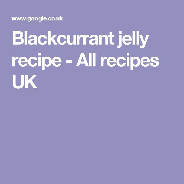 Blackcurrant jelly recipe - All recipes UK