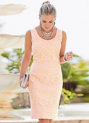 Together Stretch Jacquard Dress #kaleidoscope #wedding #abroad