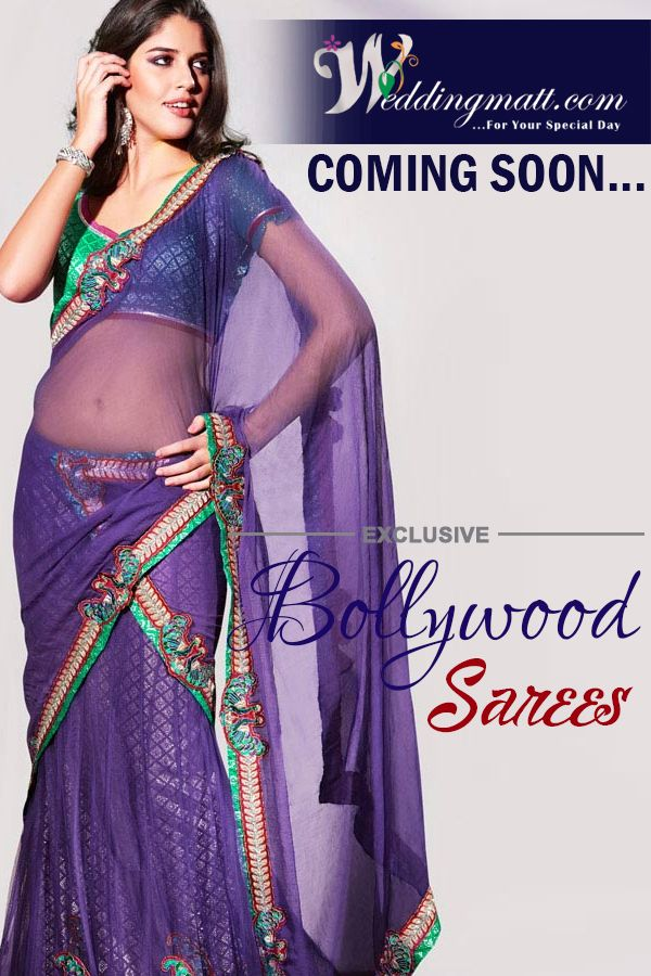 Exclusive Bollywood Saree Coming Soon ‪#‎WeddingMatt‬ ‪#‎Saree‬ ‪#‎WeddingCollections‬  Visit:- http://weddingmatt.com/