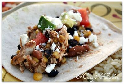 Mommy's Kitchen - Country Cooking & Family Friendly Recipes: Black Bean, Corn & Salsa Chicken With Cilantro Lime Rice