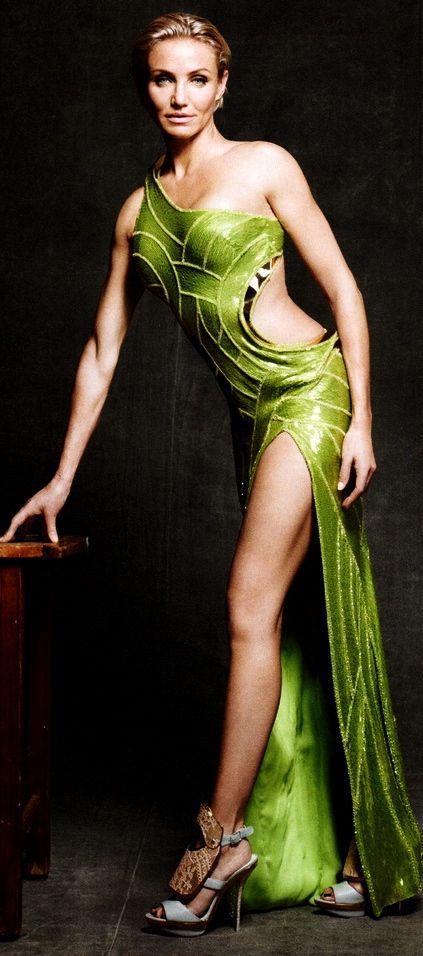 Cameron Diaz in Versace