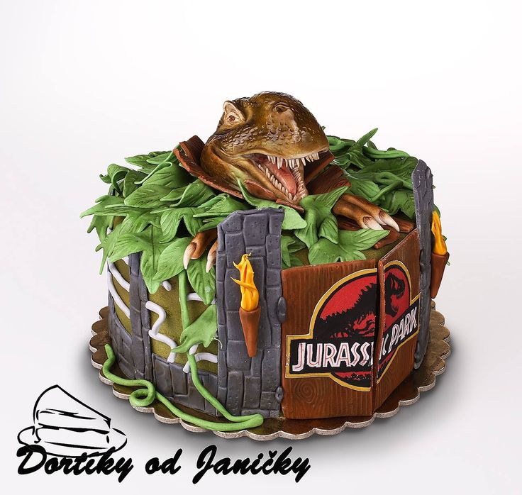 Jurrassic world cake