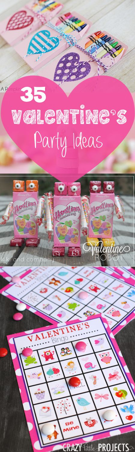 some good valentines day games - 35 Valentine Party Ideas: Games, Treats, Crafts and Favors