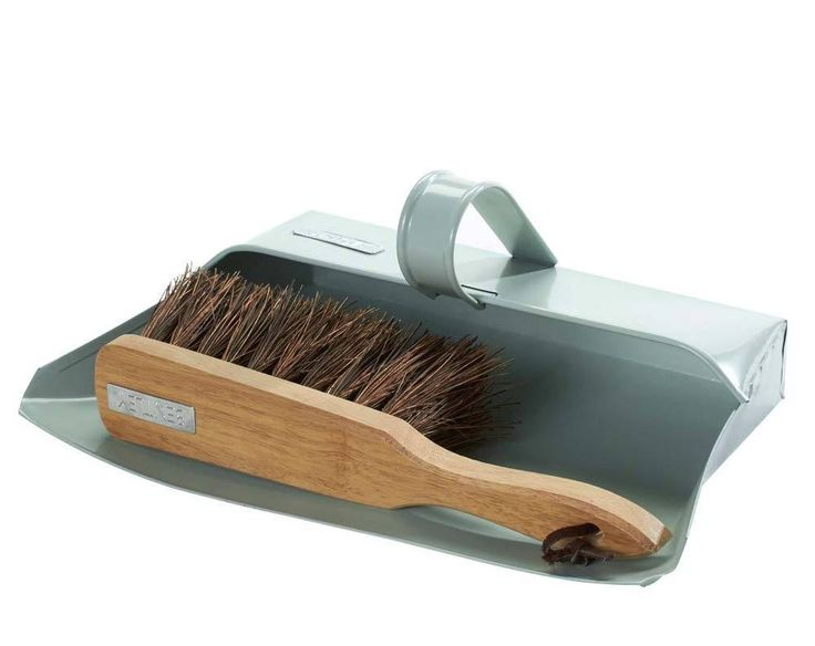 Metal Dustpan and Brush Set in Home, Furniture & DIY, Household & Laundry Supplies, Mops, Brooms & Floor Sweepers | eBay