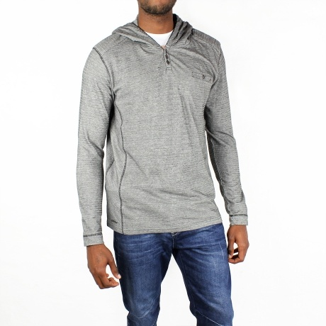 Big Steel Hoody – Black & Navy from The Modern Man Pop-Up - R399 (Save 33%)