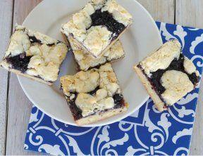 Gluten-Free Blueberry Dazzle Bars | Gluten Free & More. amazing flavor