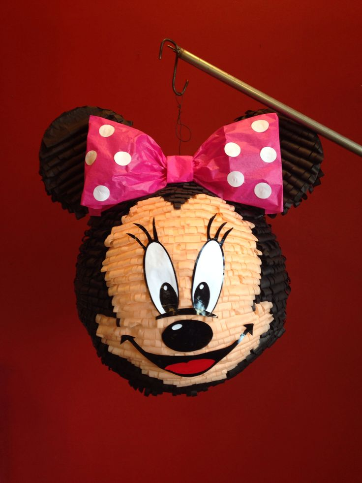 Minnie Mouse Pinata Pinata Party Pinterest Minnie