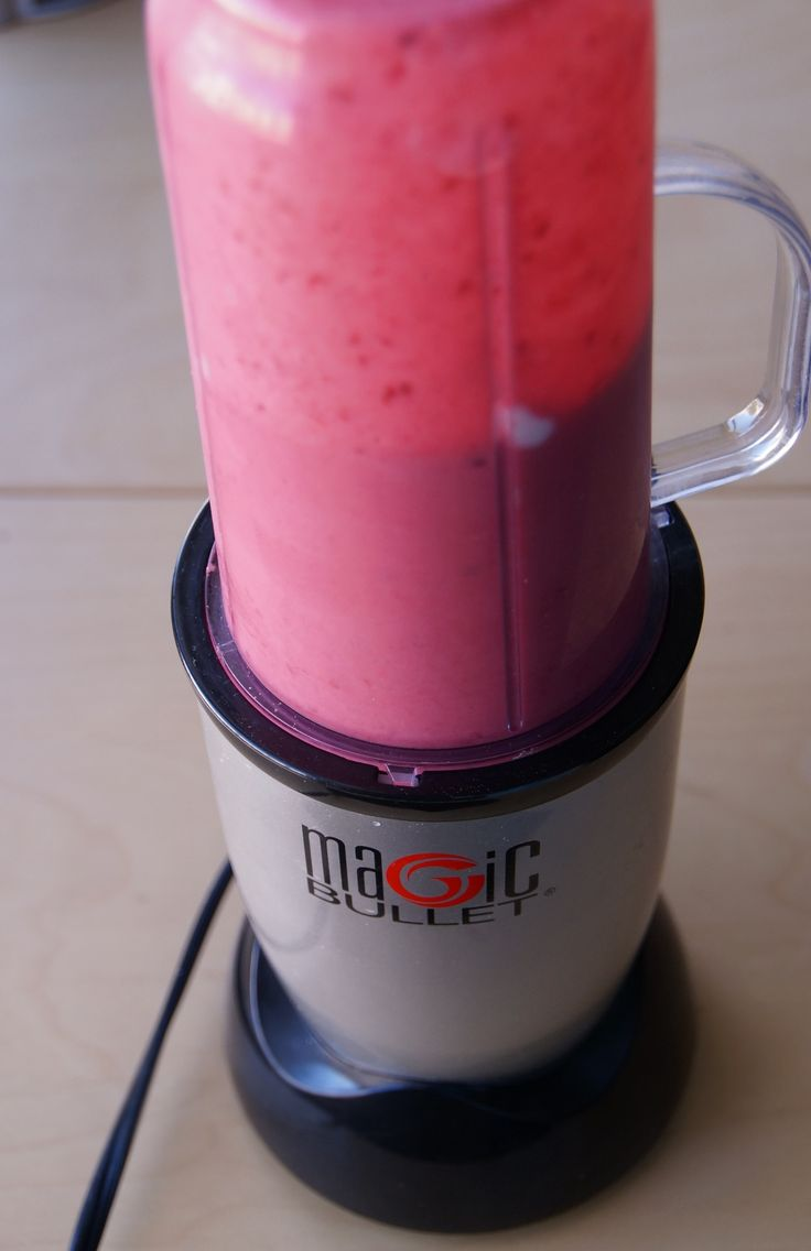 All recipes using a magic bullet- smoothies, juices and more!